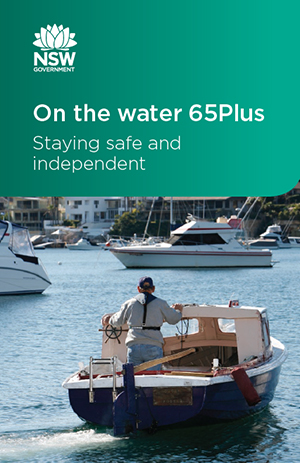 On the water 65Plus brochure cover