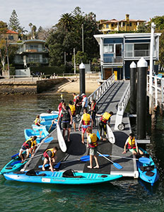 The Watsons Bay Pilot Station has been converted into a boating safety education centre